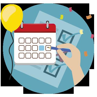 Planificación de un evento